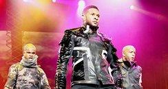 Usher Live in Vegas