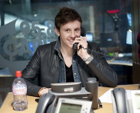 Danny Jones of McFly pictures in week