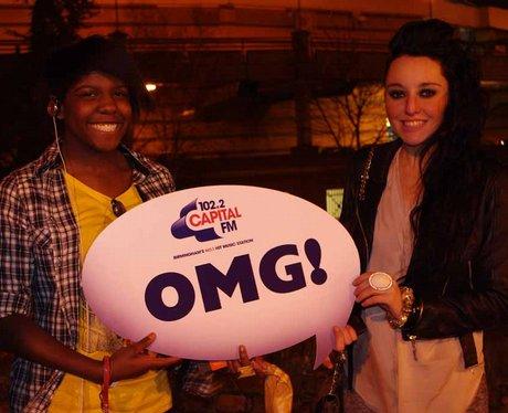 Usher Fans at NIA Birmingham