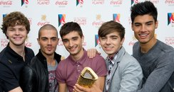 The Wanted Olympic Torch Relay