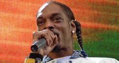 Snoop Dogg at Live 8