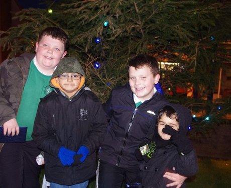 Bargoed Christmas lights