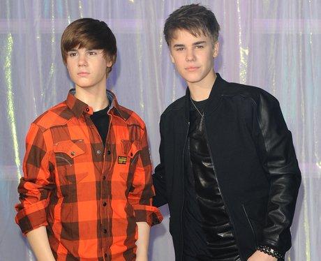 Justin Bieber waxwork