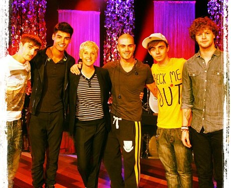 The Wanted on The Ellen Show