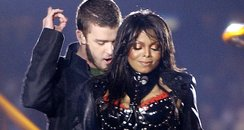 Janet Jackson and Justin Timberlake Super Bowl