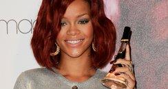 """Rihanna arriving for Rihanna's """"Reb'l Fleur"""" Fragr"""