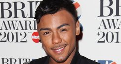 Marcus Collins arrives at the BRIT Awards 2012