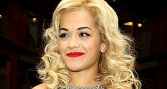 Rita Ora rubber dress