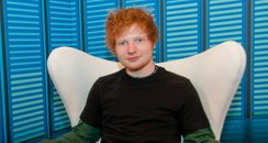 Ed Sheeran backstage at the Summertime Ball 2012