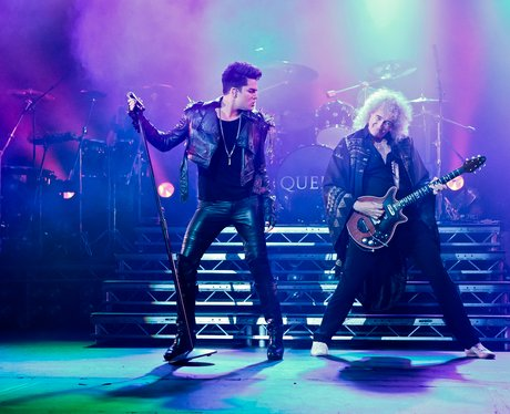 Adam Lambert and Queen