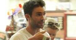 Adam Levine shopping in Los Angleles