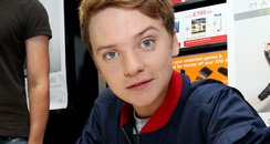Conor Maynard signs copies of his new album for fa