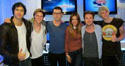 Lawson with Dave Berry and Lisa Snowdon