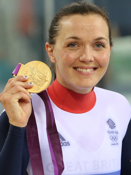 Victoria Pendleton Wins Gold For Team GB At The London 2012 Olympic Games