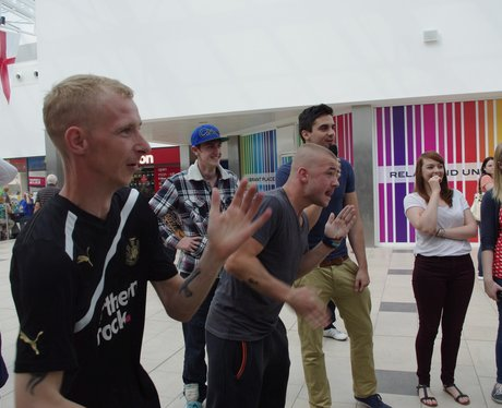 Kinect Competition with The Galleries - 12th Augus