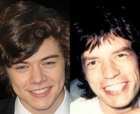 Harry Styles and Mick Jagger lookalike