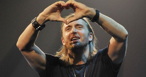 Davud Guetta Live at iTunes 2012