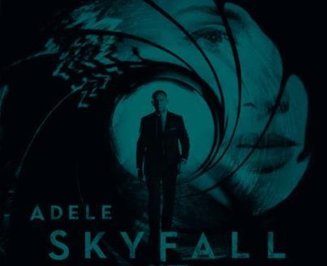 Adele's 'Skyfall' single cover