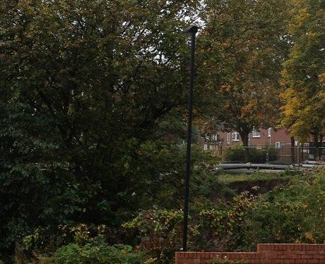Demoition of Newburn flats