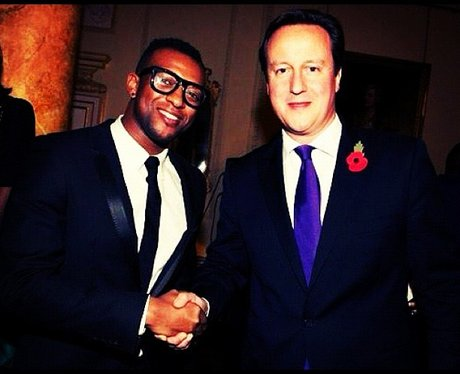 Oritse With David Cameron