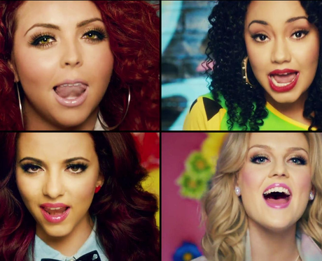 Little Mix in their 'Wings' music video