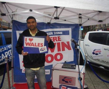 Wales v Samoa