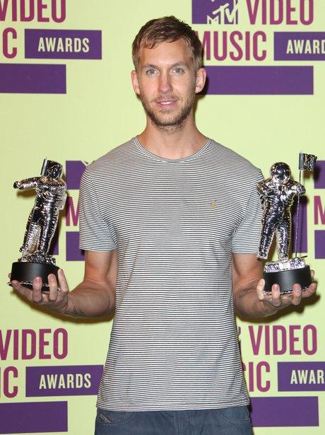 Calvin Harris at the MTV VMAs 2012