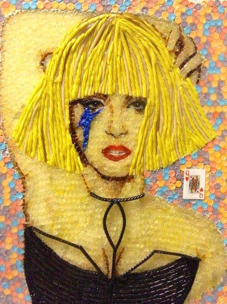 Lady Gaga sweet portrait
