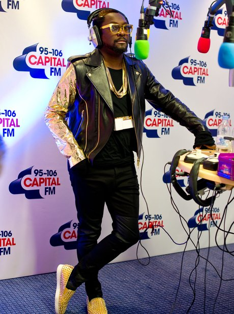 Will.i.am at the jingle bell ball 2012