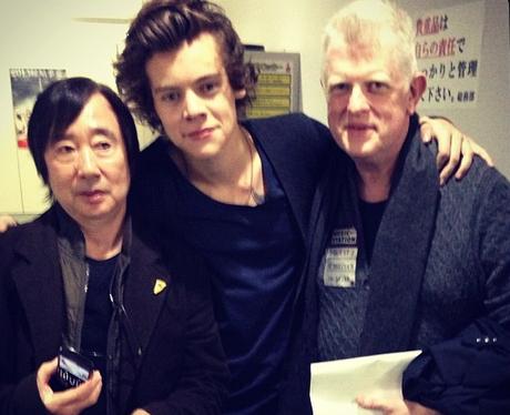Harry Styles in Japan