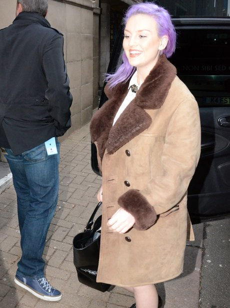 Perrie Edwards on tour with Little Mix in Wolverhampton