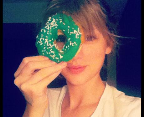 Taylor Swift celebrates St. Patrick's Day