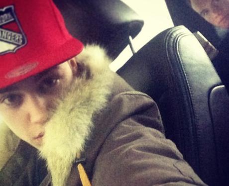 Justin Bieber selfies