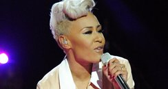 Emeli Sande performs during rehearsals