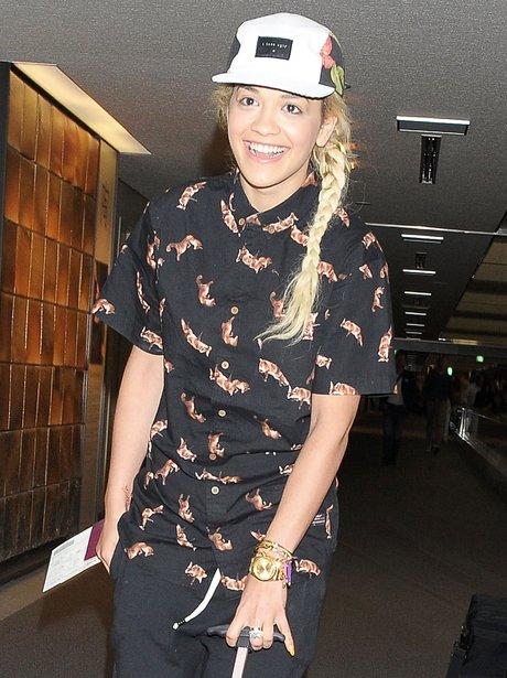 Rita Ora wearing no make up