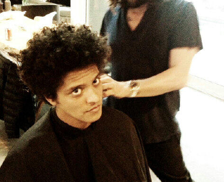 10 but brings out the afro when the time calls bruno
