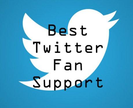 Best Twitter Fan Support