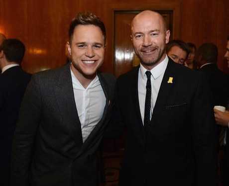 Olly Murs And Alan Shearer