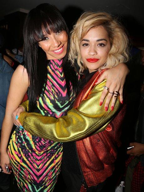 Bridget Kelly and Rita Ora