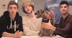 the wanted and benson the dog