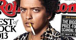 Bruno Mars in Rolling Stone magazine