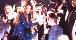 Beyonce and Joe McElderry