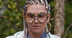 Ke$ha Filming New Music Video