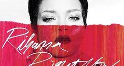Rihanna's single artwork for 'Right Now'