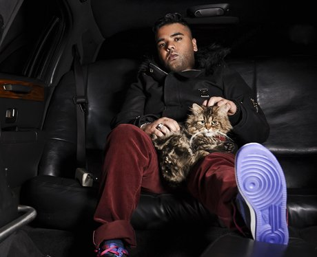 Naughty Boy in a promo picture from 2013
