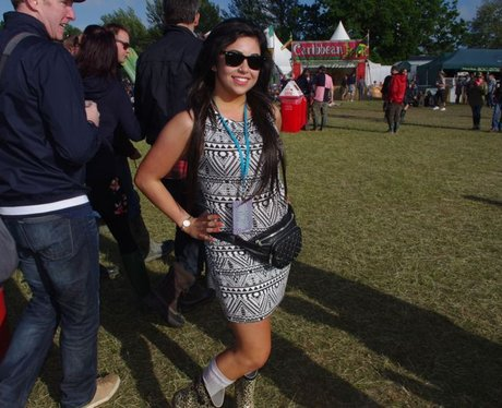 Festival Fashion - The Girls - Sunday