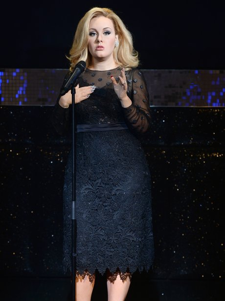 Adele Waxwork 2013 at Madam Tussauds