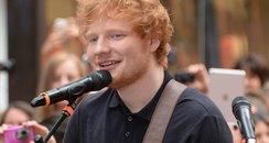 Ed Sheeran The Today Show