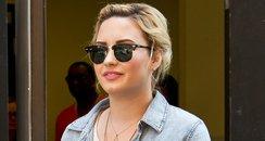 Devi Lovato leaving her hotel