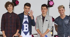 Union J in the studio